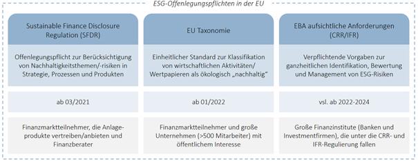 ESG Offenlegungspflichten in der EU