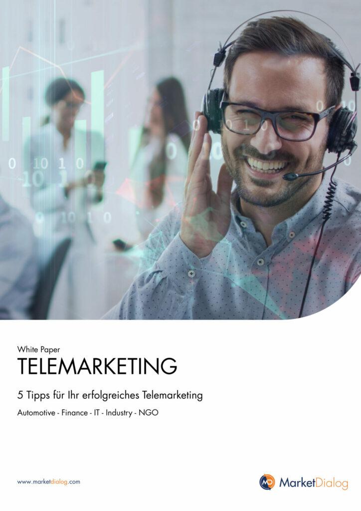 Whitepaper_5 Tipps für Ihr erfolgreiches B2B Telemarketing_MarketDialog_Titelbild_1