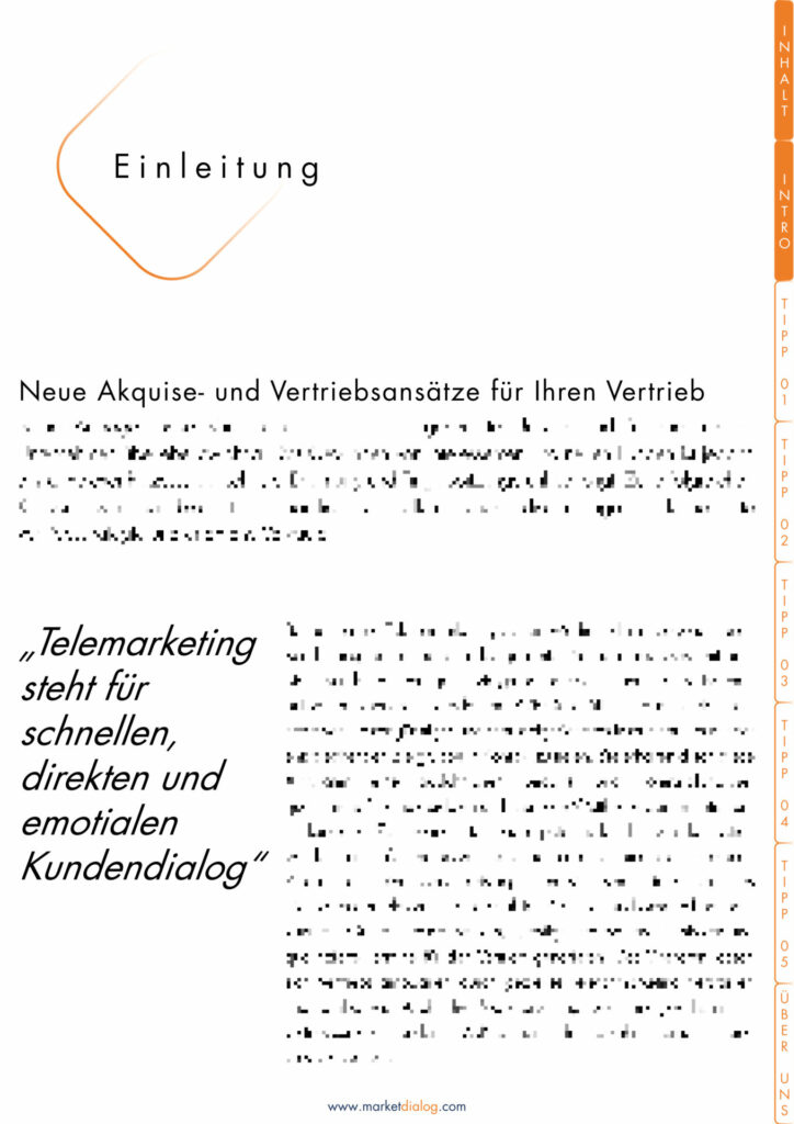 White_Paper_Neukundenakquise_B2B Telemarketing_MarketDialog_Einleitung_1