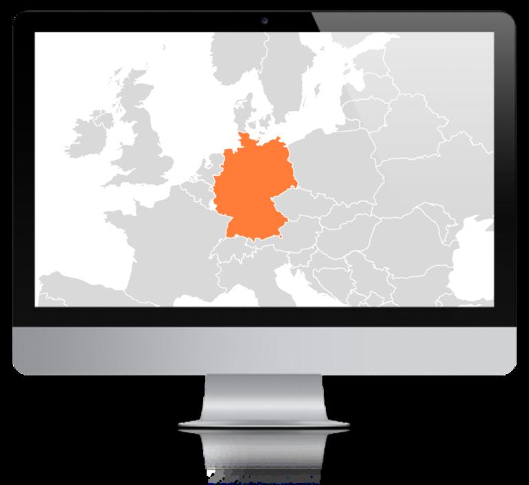 Karte Deutschland Mac